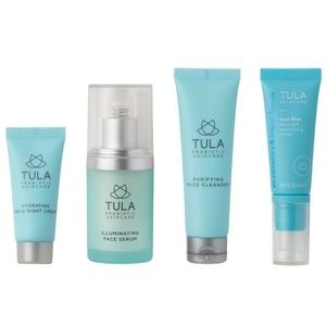 NEW 4pc Tula Skincare Discovery Travel Set
